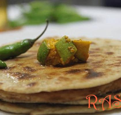 Bhakri With Spicy Ghee Recipe