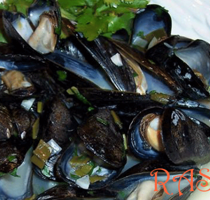 Garlic Mussels Recipe