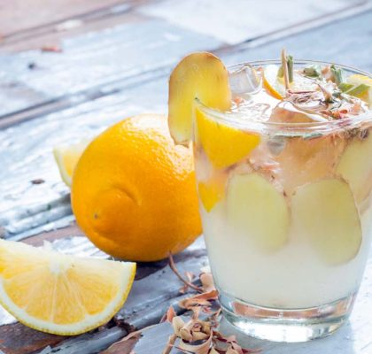 Ginger Punch mocktail Recipe