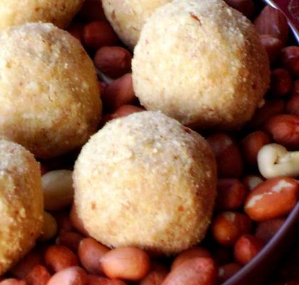 Groundnut Ladoo Recipe