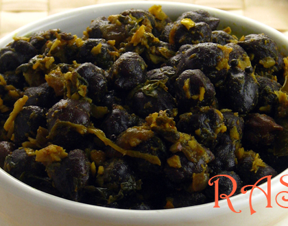 Kala Chana Sundal Recipe