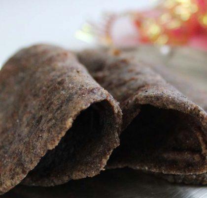 Kuttu Rajgira Paratha Recipe
