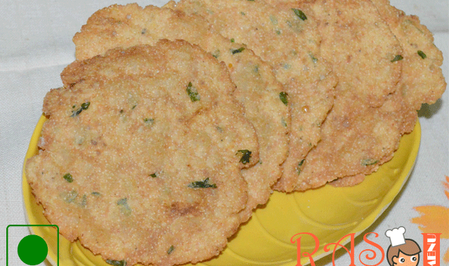 Gujarati Methi Dana Papdi Recipe