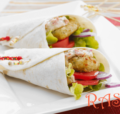 Mexican Fish Wraps Recipe