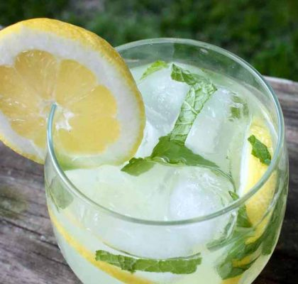 Mint Lemonade Mocktail Recipe
