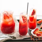 Orange and Strawberry Punch