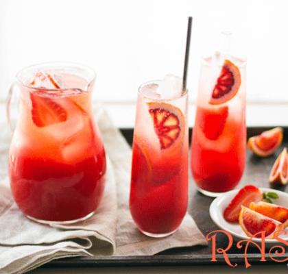 Orange and Strawberry Punch Recipe