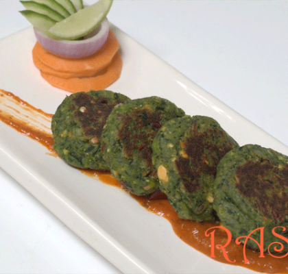 Palak Kabab Recipe