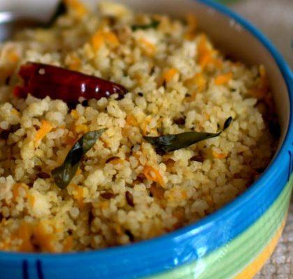 Sama Peanut Rice Recipe