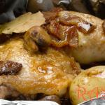 Seasoned Chicken Parcels