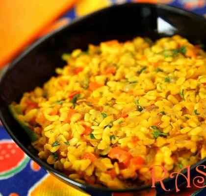 Sukhi Urad Dal Recipe