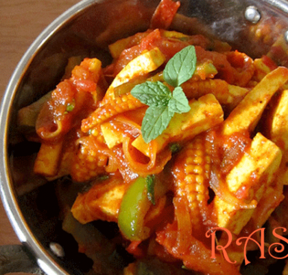 Kadhai Corn Paneer Recipe