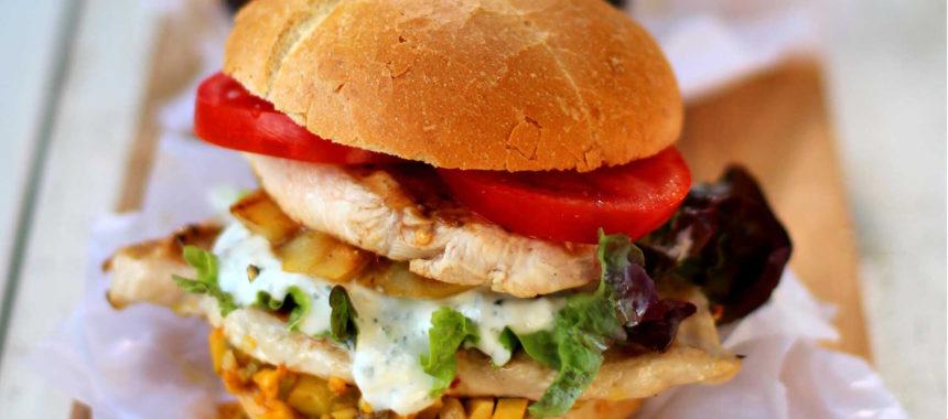 Cheese Chicken Burger Recipe
