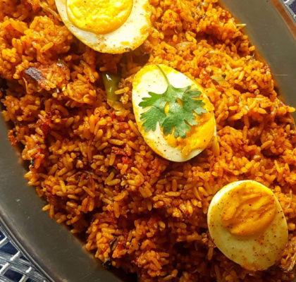 Ande Ki Biryani Recipe