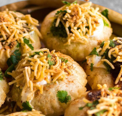 Dahi Puri Recipe