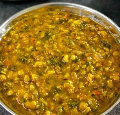 Dal Hariyali Recipe