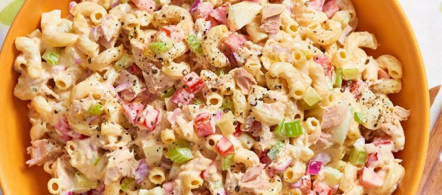 One Pot Tuna Pasta Recipe