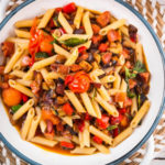 Penne with Roasted Cherry Tomato Sauce