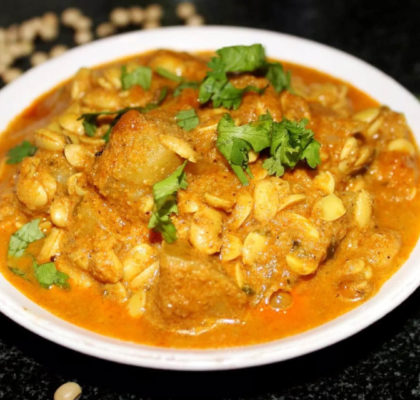 Soya bean Tomato Curry Recipe