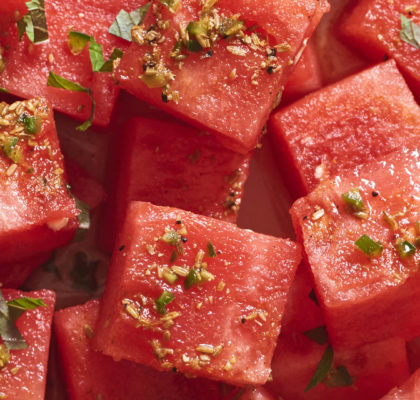 Watermelon Shashlik Recipe