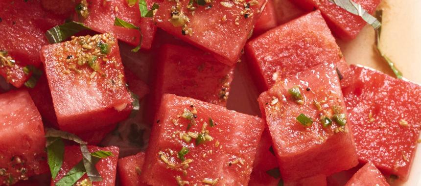 Watermelon Shashlik Recipe