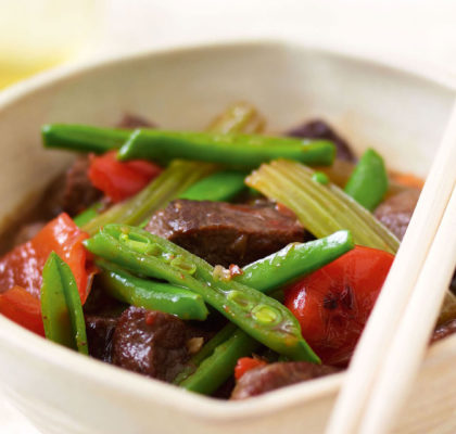 Beef with Ginger Sauce Recipe