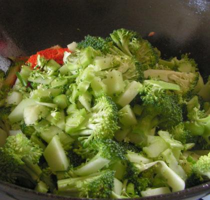 Broccoli Mutter Recipe