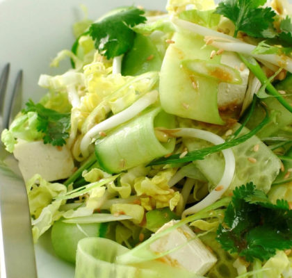 Chinese Leaf and Cucumber Salad Recipe