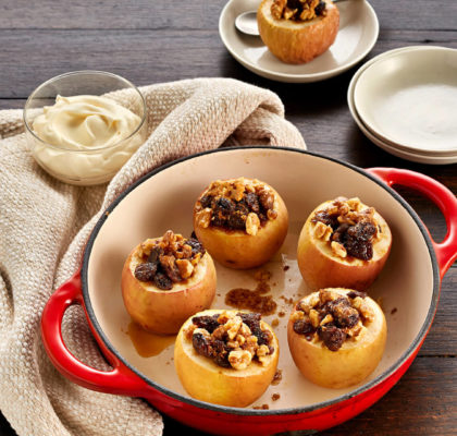 Healthy Stuffed Baked Apples Recipe