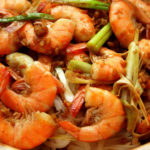 Prawns With Onion