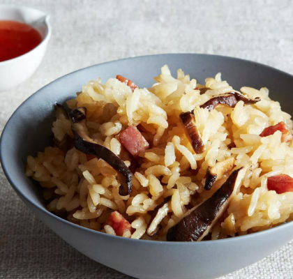 Stir Fried Sticky Rice Recipe