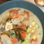 Summer Chicken Soup