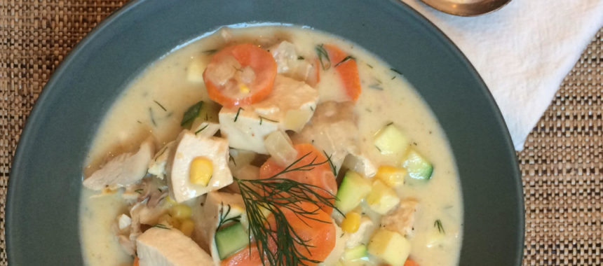 Summer Chicken Soup Recipe